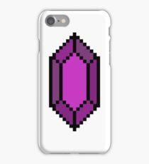 Purple Rupee iPhone Case/Skin