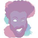 Childish Gambino Face by MagnaCarter