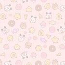 Piepsflakes Muster von mellymiew