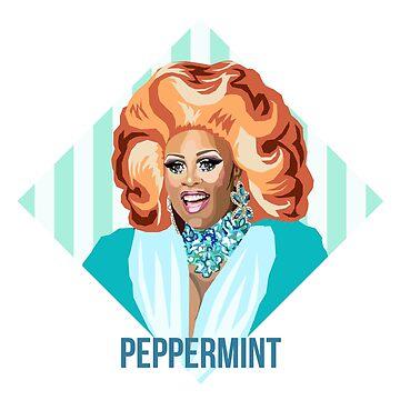 Peppermint Queen RPDR inspirado de Jesskielstra