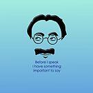 Groucho by arievanderwyst