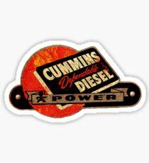 Cummins Vintage Diesel USA Sticker