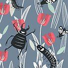 Smiling bugs by tonadisseny