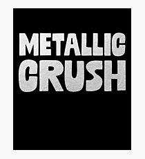 Metallic Crush Photographic Print
