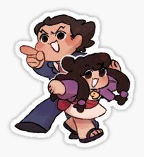 gotcha! (nick and maya) Sticker