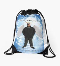 RIP YOUNG KING DAVE Drawstring Bag