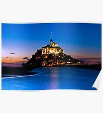 Mont Saint-Michel - Normandy, France Poster