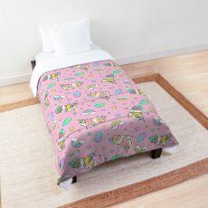 Piggycorn Pattern in pink  Comforter