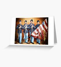 23rd Ohio Volunteer Infantry Regiment in the Civil War, 1865 Greeting Card