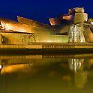 The Guggenheim Museum - Bilbao, Spain by Yen Baet