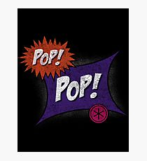 Pop POP! Photographic Print
