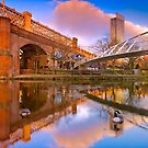 Merchants Bridge - Manchester, England by Yen Baet
