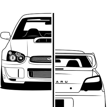 Subaru Impreza GG Best Shirt Design by CarWorld