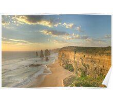 12 Apostles Sunset Landscape Orientation Poster