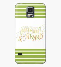 Natsume Yuujinchou Zitat Typografie Hülle & Klebefolie für Samsung Galaxy