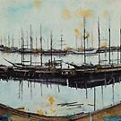 Building a Harbor II by Louisa McHugh