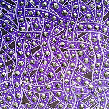Purple Ladder Pattern by RiseAndConquer