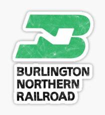 Burlington Northern Railroad Sticker