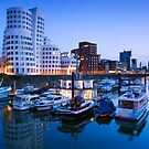Frank Gehry Buildings - Dusseldorf, Germany by Yen Baet