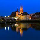 Old Town Regensburg - Germany by Yen Baet