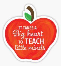 Teaching Apple Sticker