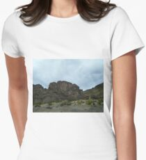 Cliff Crown - Uyuni - Bolivia, South America Women's Fitted T-Shirt