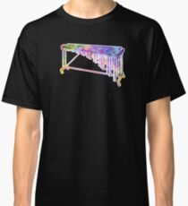 High School Band Gifts Marimba Shirt Water Color Shirt Classic T-Shirt