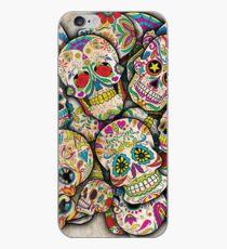 Sugar Skull Collage iPhone Case