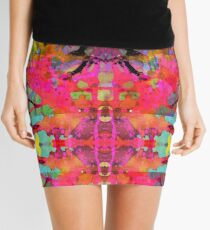 """Kodachrome - Mirrored"" Mini Skirt"