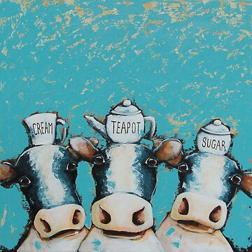 Cows for tea by StressieCat