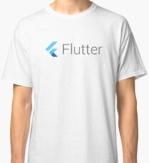 Flutter t-shirt, stickers, mugs and phone case Classic T-Shirt