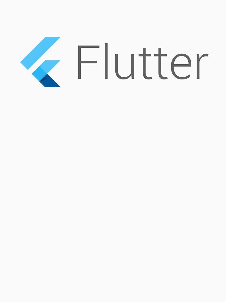 Camiseta, pegatinas, tazas y caja del teléfono Flutter de runx