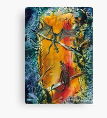 The Stand-off Canvas Print