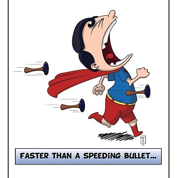Look its a Bird! - Faster than a speeding bullet by Joshessel