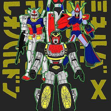 Robots united by Tsudo