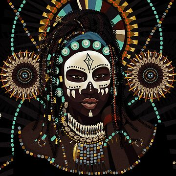 voodoo queen for all those who love a little dark magic. Halloween, Mardi Gras, American History.  by SleeplessLady