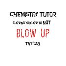 Chemistry Tutor Showing You How to Not Blow Up the Lab by Ruthie Spoonemore