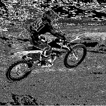 Air Time - Motocross Riders Race Meet by RavenPrints