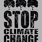 STOP CLIMATE CHANGE black edition by yanmos