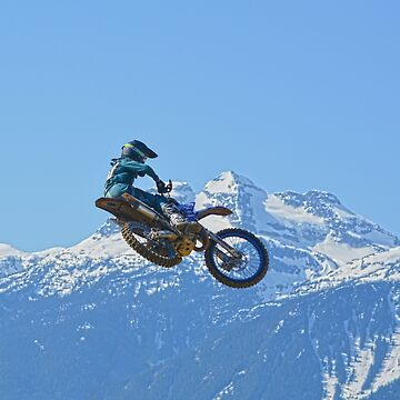 Revelstoke Ride - MotoX Racing in British Columbia by RavenPrints