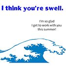 I think you're swell card by PSamp