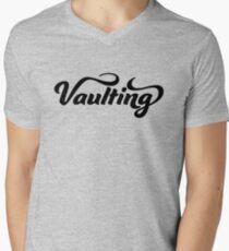 Vaulting Men's V-Neck T-Shirt