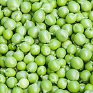 Green peas - good enough to eat by Chris Warham