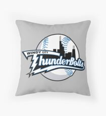 Windy City ThunderBoltslogo Throw Pillow