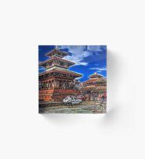 Durbar Square, Kathmandu, Nepal Acrylic Block