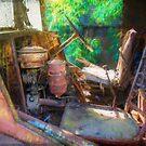 Rusty Truck Cabin by Stuart Row