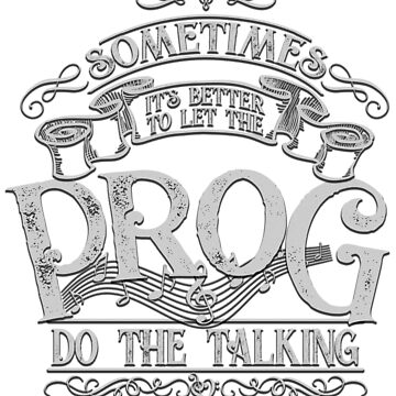 Let the PROG do the talking | White Ink by ProfThropp