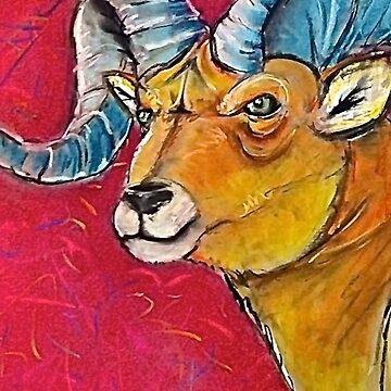 The Spirit Bighorn Sheep by FlannelDave