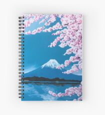 A Daydream in Japan Spiral Notebook