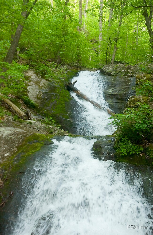 Quot Crabtree Falls Virginia Usa Quot By Kskinner Redbubble